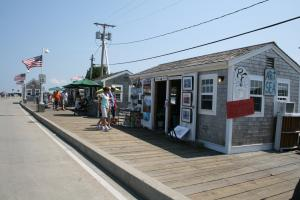 Art Shack In Provincetown, Cape Cod, Mass.